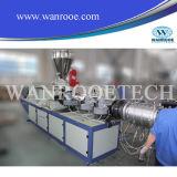 Ligne de production d'extrudeuse de tuyaux de drainage en PVC