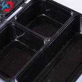 Одноразовые пластиковые Three-Compartment окно быстрого питания