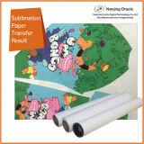 El Koala 80g/m² papel de la sublimación de secado rápido el tamaño de rollo de papel para impresoras de inyección de tinta de gran formato