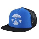 Bill Snapback Plano personalizado 5 Malha de espuma do painel Caminhoneiro Hat