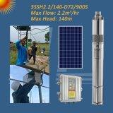 3SSH 72V Die-Cast солнечной энергии на выходе из нержавеющей стали ТОКА НАСОСА, косозубую шестерню солнечной энергии насоса ротора