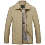Os homens de alta qualidade da peça de vestuário exterior impermeável Jaqueta Windbreaker Camada Clássico