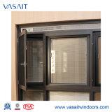Feritoia magneticamente controllata di alluminio Windows del Doppio-Vetro del blocco per grafici con opzione automatica