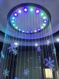Waterval van de Muur van de Fontein van het Gordijn van het Water van de decoratie de Binnen Kunstmatige