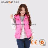 verre infrarode van het de polyesterjasje van de kledingsdame van het de vrouwen navulbare Far-infrared verwarmde vest de winterkleren voor meisjes