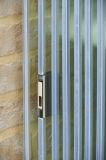 アルミニウムFramelessによって二重ガラスをはめられるBifoldドア水証拠の外部ドア