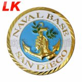 Promotinal GiftのためのカスタムFree Sample Zinc Alloy Bronze Coin