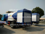 5000 litros de gas LPG móvil bobtail llenado de carretilla, 6m3 Carretilla de llenado del cilindro de gas