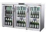スーパーマーケットのカウンタートップのガラスドアの飲料のクーラー冷却装置か冷却装置