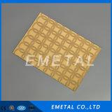 strato impresso diamante perforato decorativo dell'acciaio inossidabile 430 304