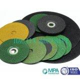 Broyage de coupe en métal abrasif et couper la roue pour acier inoxydable avec MPa et de la norme EN 12413