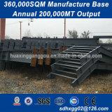 Lavorazione materiale personalizzata di Q235 Q345b di acciaio per costruzioni edili