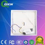 Sensor de 6W Luz do painel de LED com a superfície ao redor 6500K