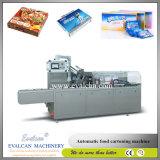 Bolsa de comida automático Caja de cartón Máquina de embalaje caja
