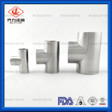Conector de Tubo de Aço Inoxidável sanitárias 90 grau t Soldada