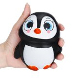 La decompressione gioca il giocattolo Squishy aumentante delicatamente lento sveglio di Squishies Oyuncaklar del pinguino
