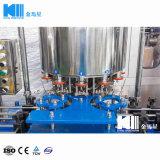 Kleinkapazitätssaft-trinkende waschende füllende mit einer Kappe bedeckende Maschine/Zeile linearer Typ