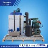 De Machine van het Ijs van de Vlok van de Apparatuur van het Ijs van het Zeewater van het roestvrij staal voor Zeevruchten