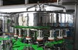 Productos lácteos que llenan el jugo del equipo, bebida, máquina de rellenar del agua