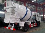 Caminhão pequeno do cimento do caminhão do rolo do cilindro do misturador concreto de Dongfeng 4.5m3 para a venda
