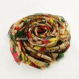 Form-Wollen gesponnener langer Schal für Dame oder Pashmina Schal