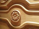Европейский стиль двойные деревянные двери с использованием для вилла (DS-9010)