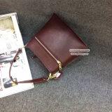새로운 간단한 작풍 여자 핸드백 숙녀 Emg4960를 위한 연약한 진짜 가죽 어깨에 매는 가방
