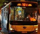 Étalage polychrome extérieur de destination du bus DEL de qualité