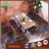 Mesa de café e cadeira com mesa de jantar em madeira Mesas de café usadas para venda