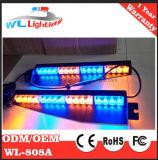 Barra chiara d'avvertimento d'avvertimento dell'indicatore luminoso e di spaccatura della visiera del LED (ambrata)