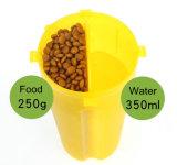 Портативный Пэт движении продовольствия и воды в чашу для фальцовки