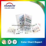 Диаграмма цвета системы Pantone краски стены