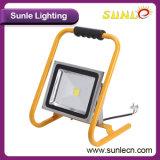 Illuminazione portatile gialla dell'inondazione della PANNOCCHIA 50W LED della maniglia (SLFL-WT05)
