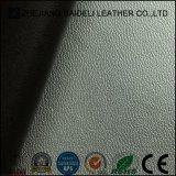 Couro sintético de PVC para sapatos / couro deslizador