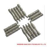 Grano de la alta precisión que arruina piezas del aluminio del CNC