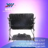 새로운 IP65 120PCS 10W LED 도시 색깔 빛 RGBW는 옥외 빛 LED 벽 Lght LED 시 빛을 방수 처리한다