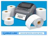 Papier pour étiquettes thermique auto-adhésif pour l'usage de code barres