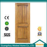 Composite de l'intérieur en bois de placage porte en bois massif avec MDF de remplissage