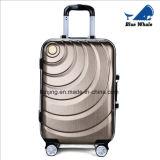 工場価格3PCSは堅いシェルの荷物ABS+PCのトロリースーツケースをセットした