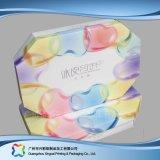 Regalo/alimento de empaquetado de papel rígido Softcover de lujo/rectángulo cosmético (XC-hbf-008)