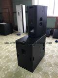T24n Dual 12 '' Bi-AMPÈRES/a linha profissional altofalante com discurso excelente, altofalante interruptor passivo da disposição do áudio da série completa