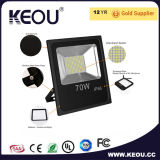 AC85-265V IP65 10W LEDのフラッドライトの暖かく白いですか中立白くか涼しい白