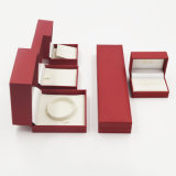 Caixa de jóia da jóia do bracelete do pendente do anel com gravação (J98-EX)