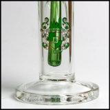 """Pipe droite de Weed de pipe de fumage de 10 """" de tube droit neuf en verre de narguilés de Hfy de tube Illadelph 9mm Waterpipe en verre conduites d'eau"""
