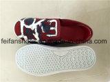 Les plus défuntes chaussures occasionnelles de chaussures de chaussures de toile d'injection d'enfants (FFZL1031-01)