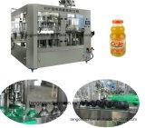 Máquina de rellenar del refresco carbónico automático de la bebida 3in1 para la botella de cristal