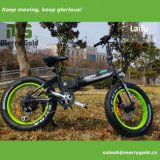 Superventas 2017 Grasa de 250W bicicleta eléctrica plegable con batería oculto