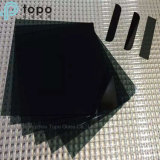 Verre à vitres teinté par noir pour la glace décorative (CB)