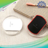 Preto e branco Universal Qi Standard Wireless Mobile Phone Charger para Samsung / HTC / LG