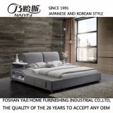 회색 직물 침대 호텔 거실 현대 침실 가구 Fb8036b